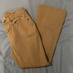 Ladies Bootcut Khakis